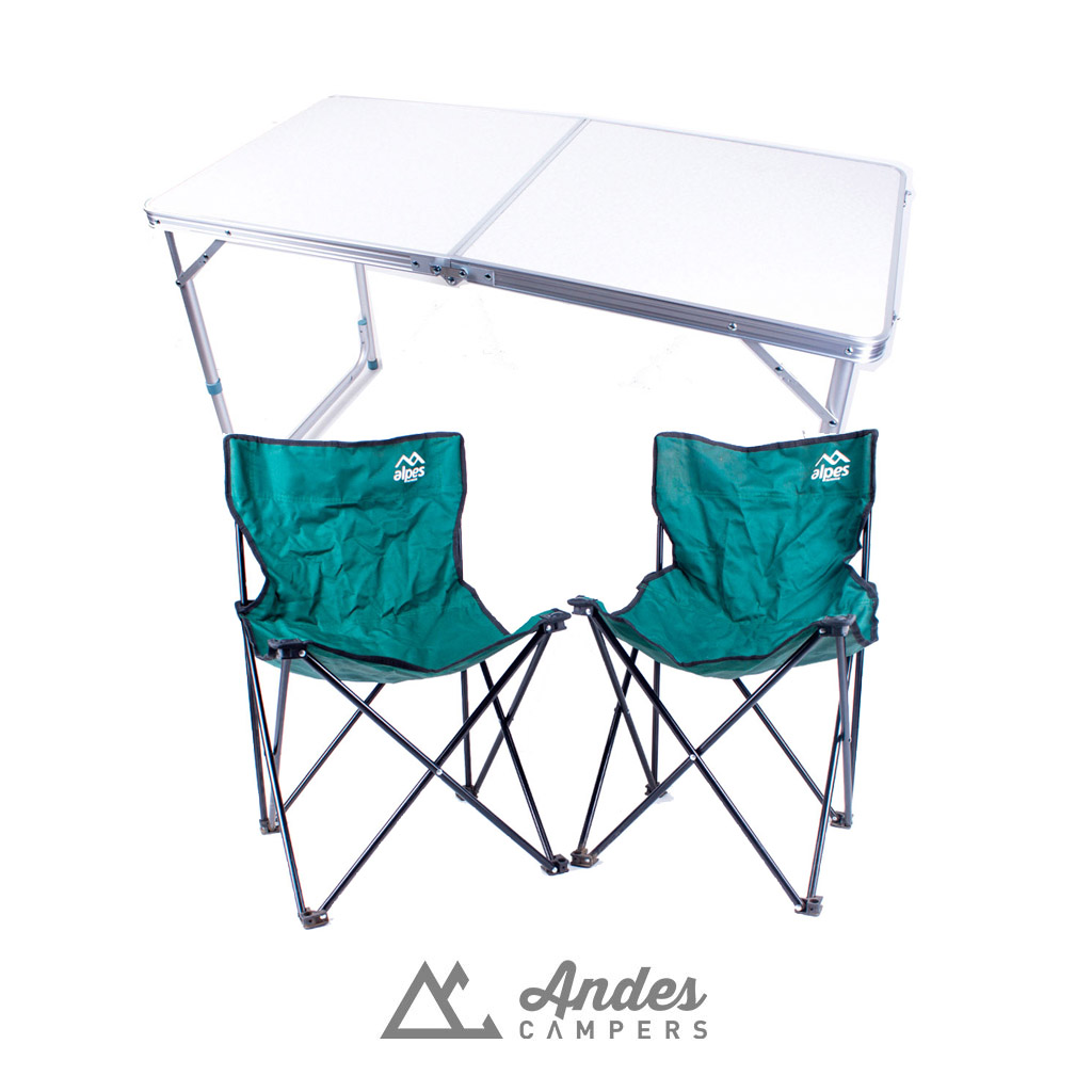 Camping Table and Chairs portables